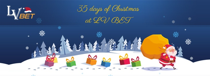 Lvbet 35 Days Of Christmas Your Chance For A Share Of 10 000 Free