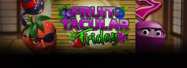 Eurogrand Fruit Tacular Friday Promo With 10 Free Spins On